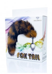 Korek Analny Fox Tail-Brown XL